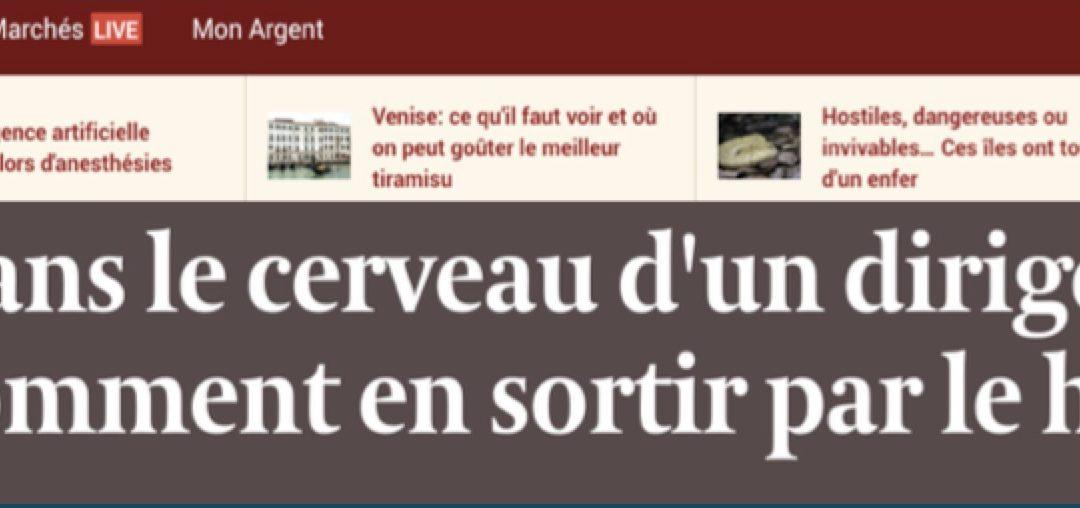 L'infernal dilemme des dirigeants – Une carte blanche parue dans le quotidien économique belge L'Echo