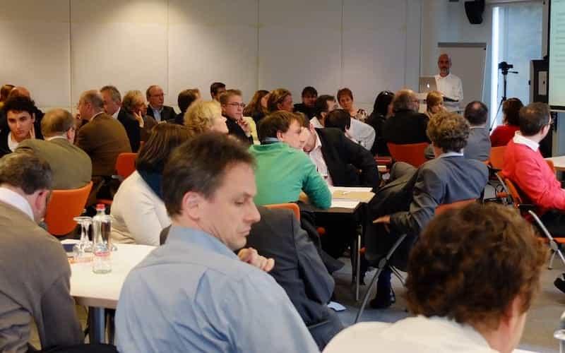 Pierre anime un atelier pour Co-Intelligence Wallonia